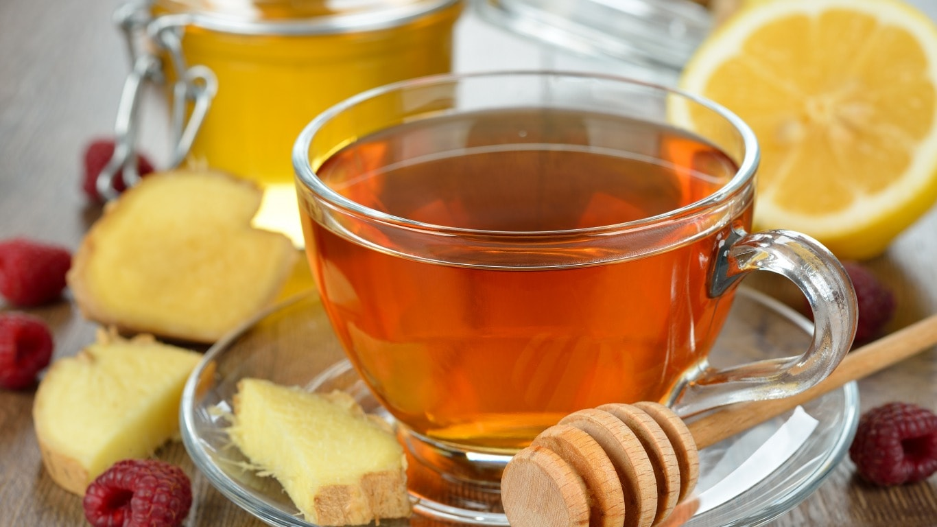 Как сделать имбирь с лимоном и медом от простуды