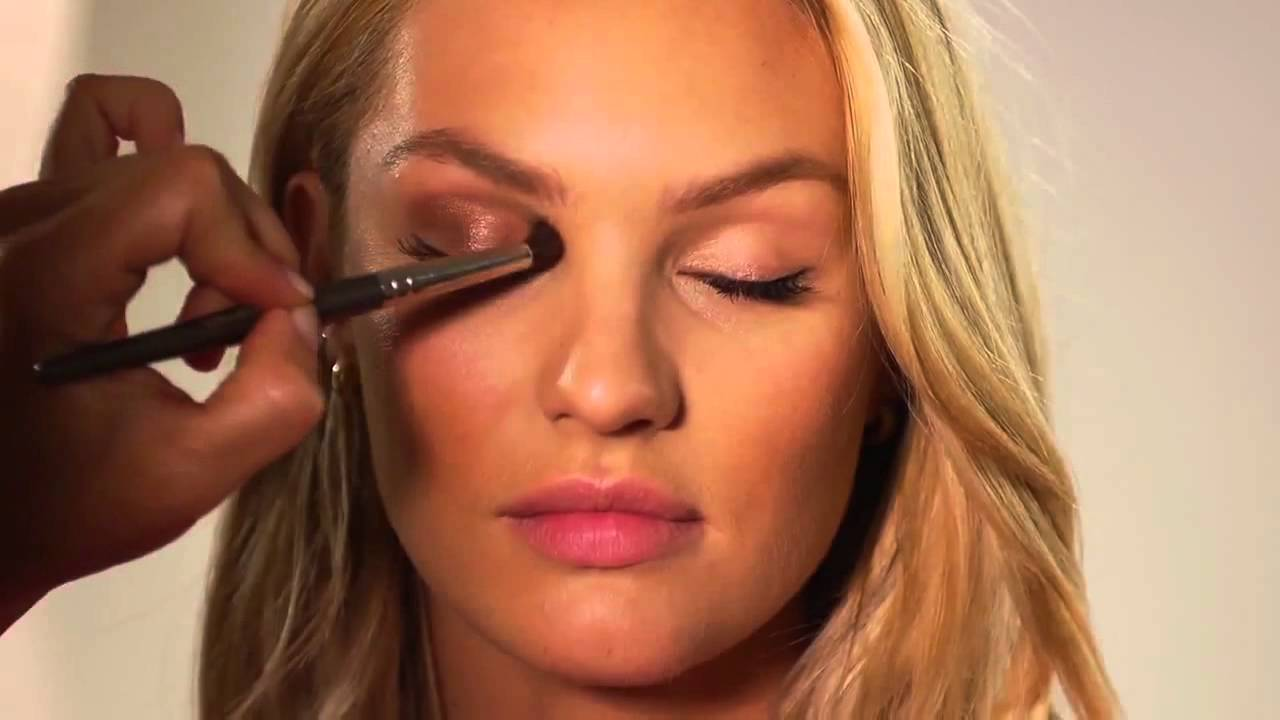 Victoria secret makeup look