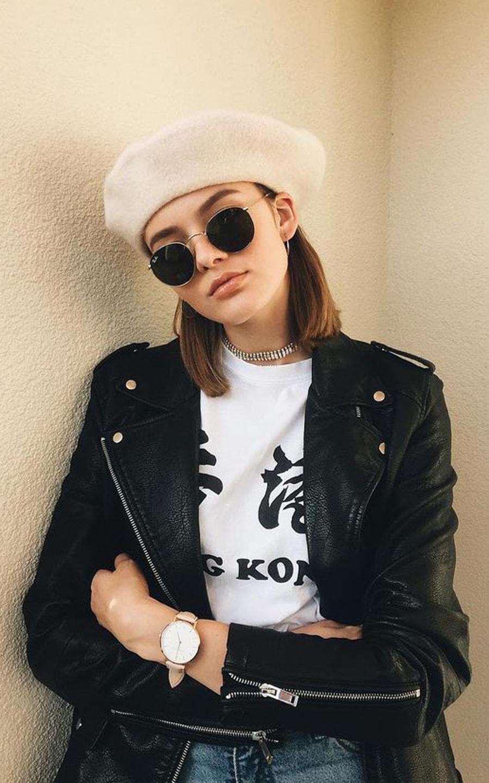 Best 15 beret outfit ideas   Yuliana Dementyeva