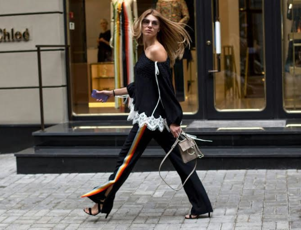 Track Pants street style trend