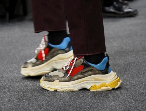 Yes or no? Heavy sneakers. Trend`18