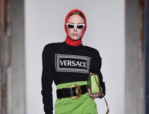 Versace show fall 2018