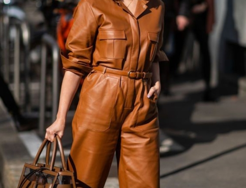 Leather – one of the main trends of 2019!