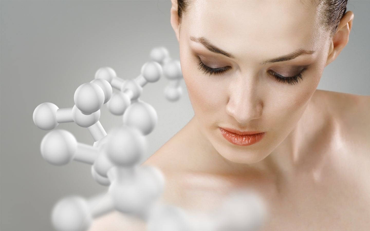 Peptides in cosmetics.